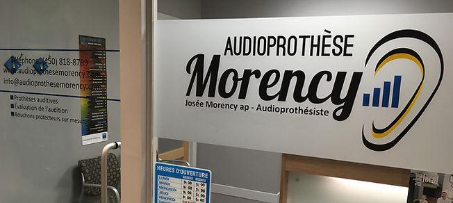 image du bureau de Audioprothèse Morency