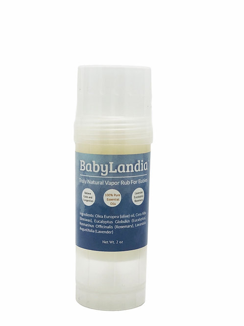 Truly Natural Vapor Rub For Babies