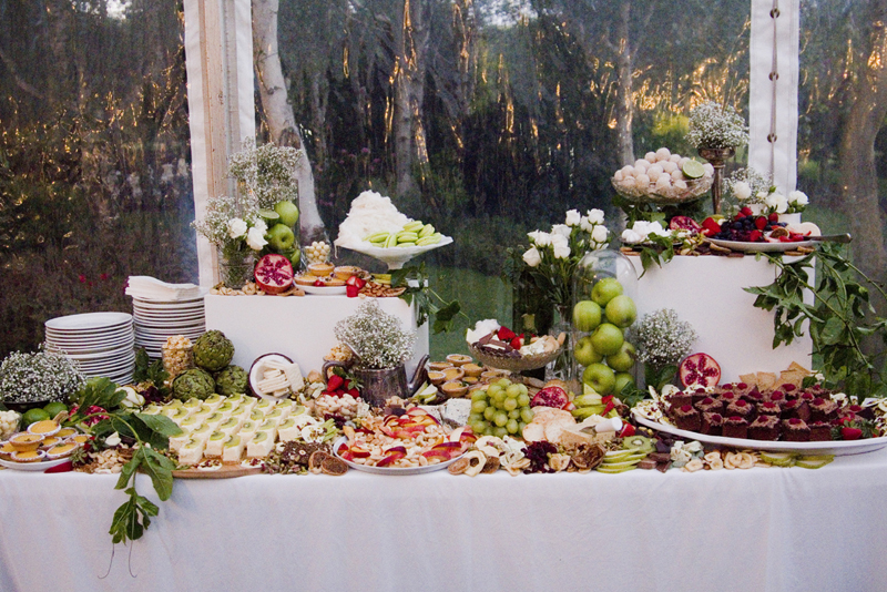 WEDDING DESSERT GRAZING TABLE