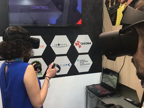 La formation en Réalité Virtuelle (VR)... ça avance !!!
