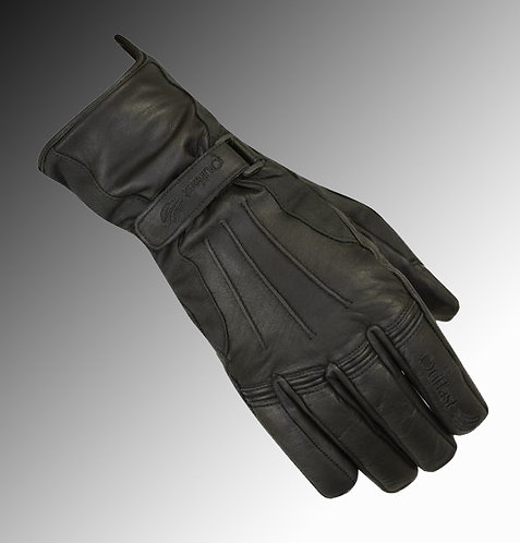Merlin Heritage Darwin wax / leather Outlast black motorcycle gloves