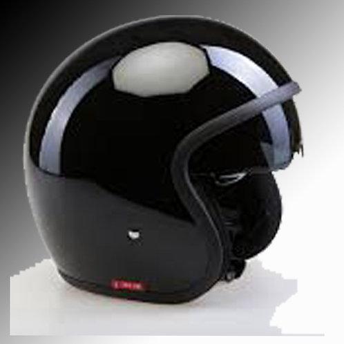 Viper RSV-06 gloss black open face helmet