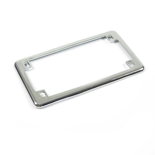07. Licence registration number plate holder surround chrome
