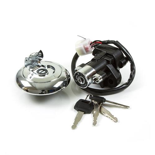 23. Lock set ignition switch (with waterproof socket) & petrol tank cap (Euro 3)