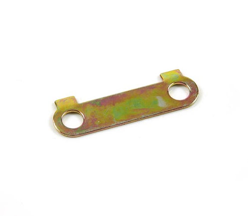 30. Front sprocket (15 or 17 teeth) lock tab plate