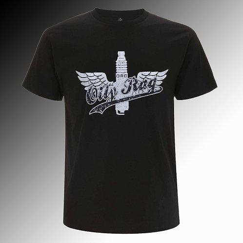 Oily Rag Winged Plug T shirt (mens')