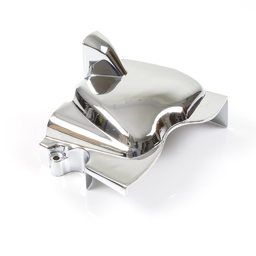 11. Front sprocket cover chrome (post 2010)