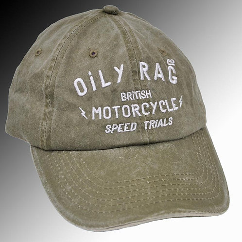 Oily Rag Speed Trails peak cap