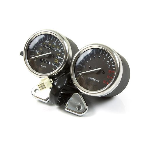 27. Speedometer / Tachometer assembly black