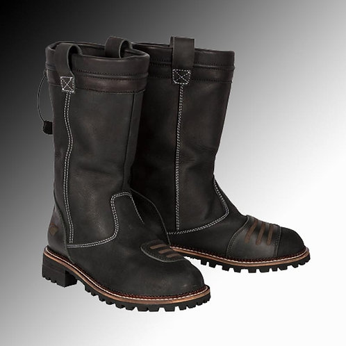 Spada Pallas leather black motorcycle boots