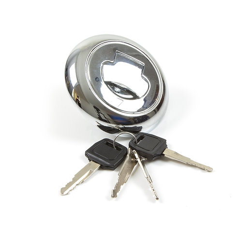 24. Fuel petrol tank cap with keys
