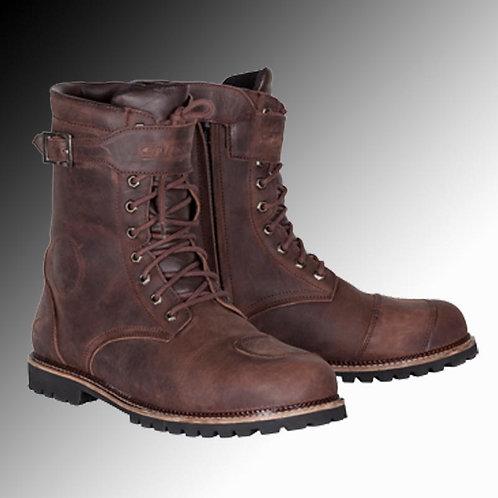 Spada Pilgrim Grande leather brown motorcycle boots