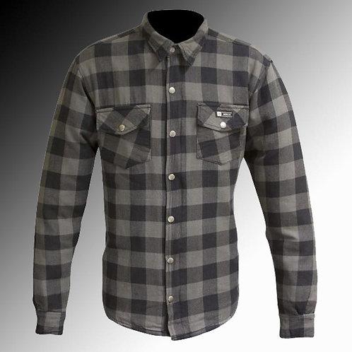 Merlin Street Axe Kevlar armoured grey motorcycle shirt