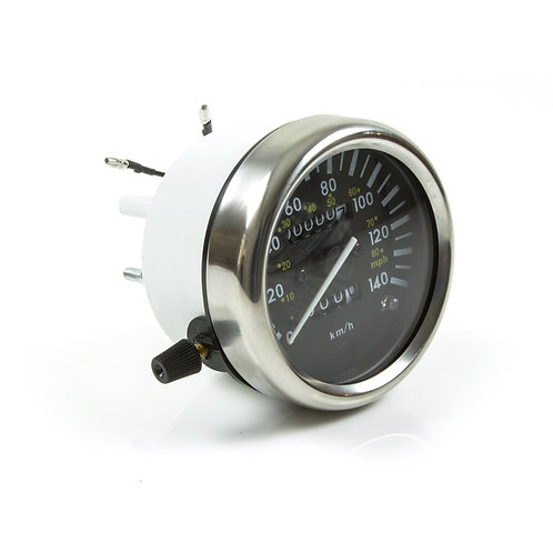 37. Speedometer odometer clock unit