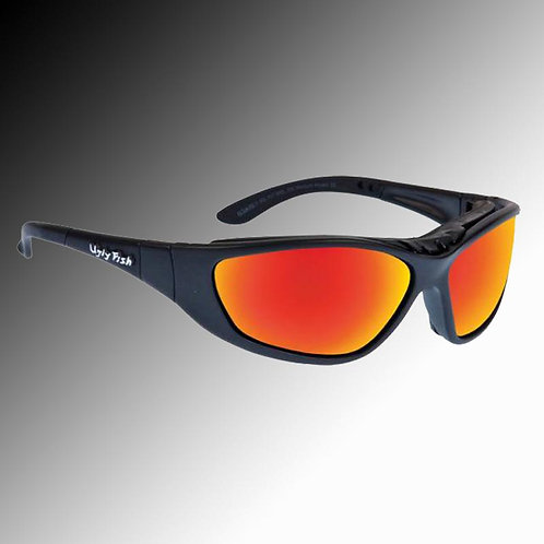 Ugly Fish Ultimate RS707 red lens motorcyclist's eye protectors
