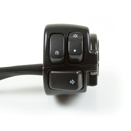 07. Handle bar switch - right hand (push on/off indicators)