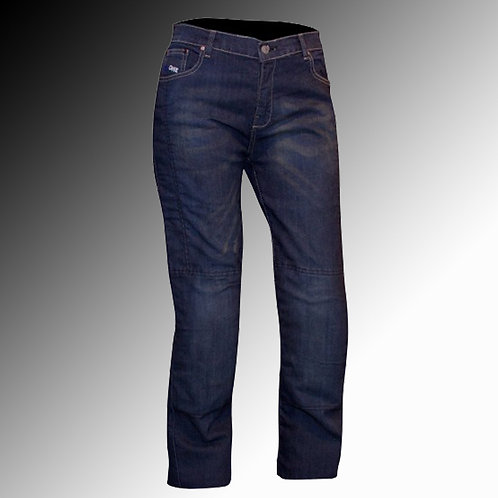 Merlin Route One Olivia armoured denim blue motorcycle jeans