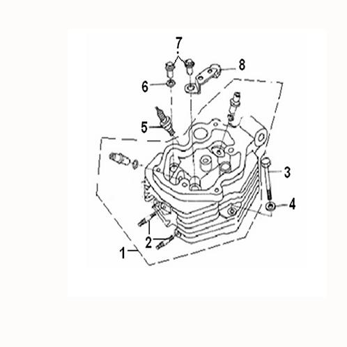 03. Cylinder head bolt M8x77