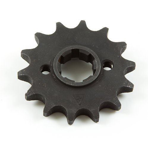 14. Sprocket front (14 teeth) with flange