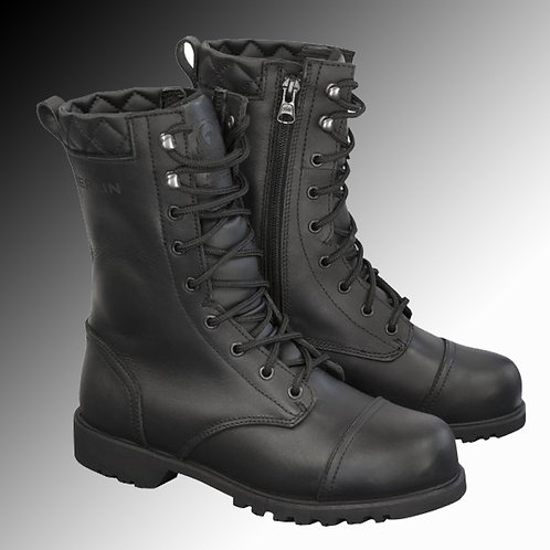 Merlin Heritage combat style G24 leather motorcycle boots