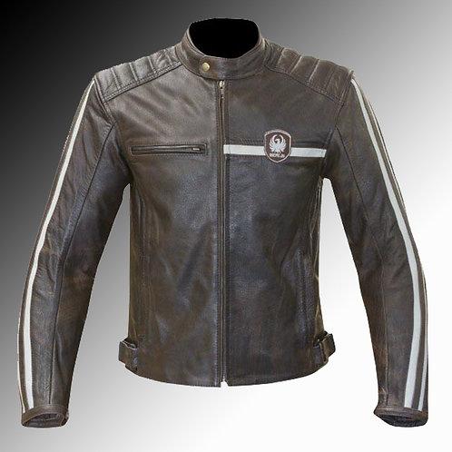 Merlin Heritage Derrington leather armoured motorcycle jacket
