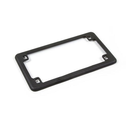 07. Licence registration number plate holder surround matt black