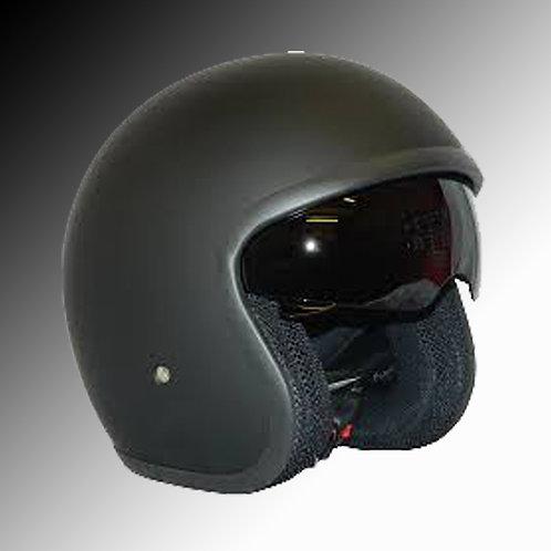 Viper RSV-06 matt black open face helmet