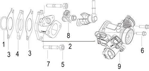 09. Fuel injector throttle