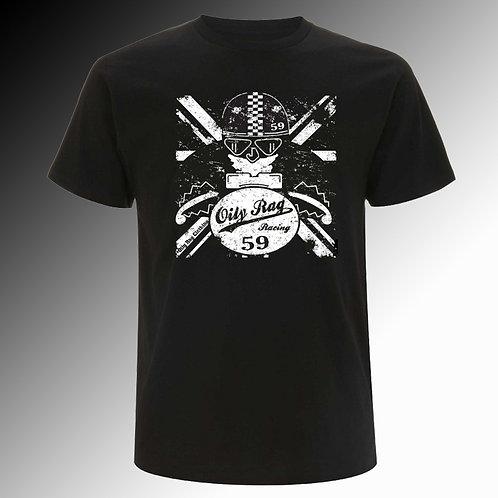 Oily Rag Vintage Racer T shirt (mens')