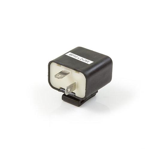 15. Indicator flasher relay (freq shift)