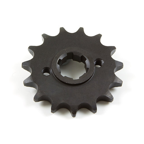 14. Sprocket front (15 teeth) with flange