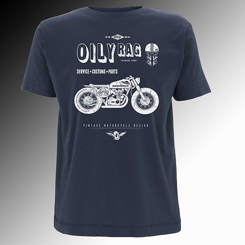 Oily Rag Shed Build T shirt (mens')