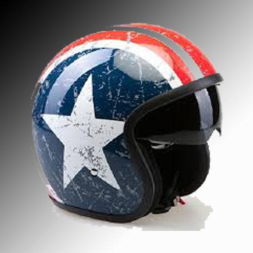 Viper RSV-06 US Star open face helmet