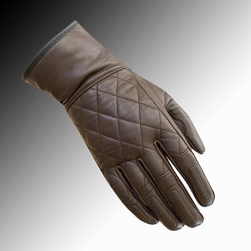 Merlin Heritage Salt leather brown motorcycle gloves