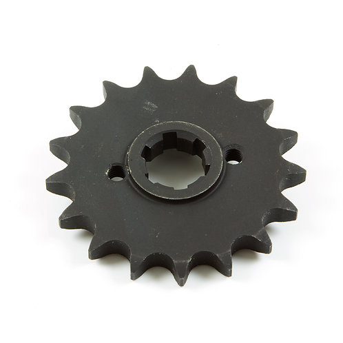 14. Sprocket front (17 teeth) with flange