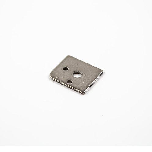 11. Foot rest bar peg rear bracket nut