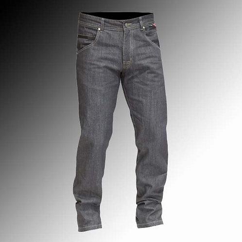 Route One Brooklyn armoured waterproof denim black motorcycle jeans