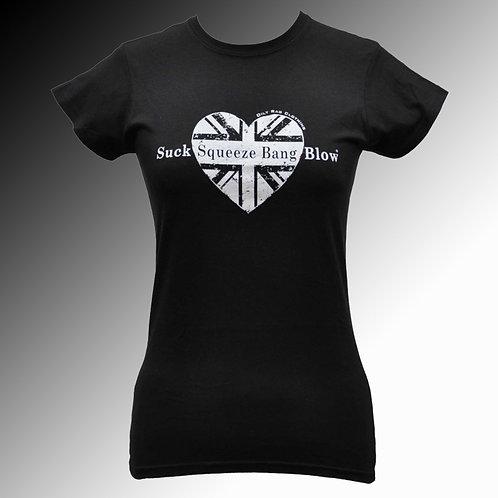Oily Rag Suck Squeeze Bang Blow T shirt (womens')