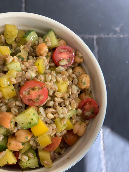 This Farro Salad Is Far Out