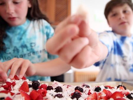 Fruity Frozen Yogurt Berry Bark