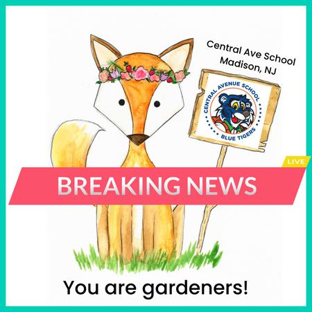 CAS You Are Gardeners!