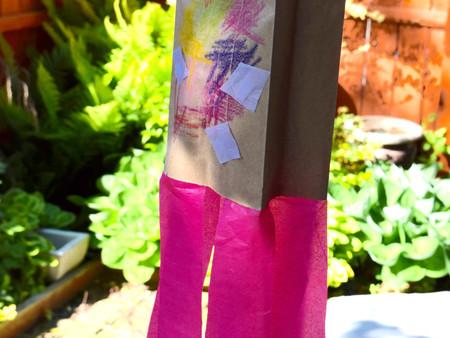 Paper Bag Kites!