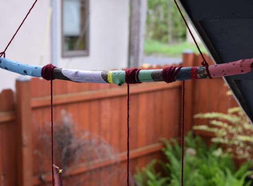 Painted Wind Chimes