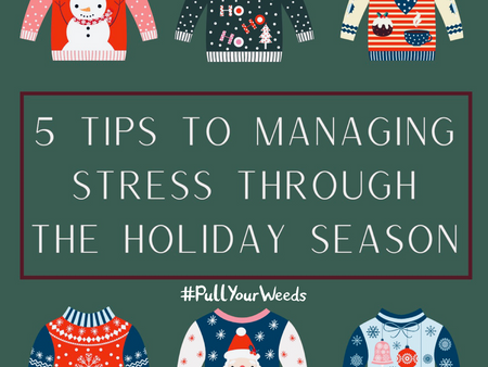 Managing Stress Through the Holiday Season