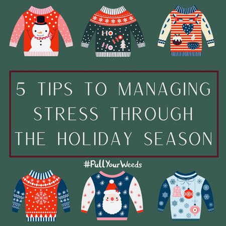 Managing Stress Through the Holiday Season