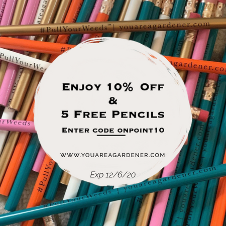 Free #PullYourWeeds® Pencils ✏️