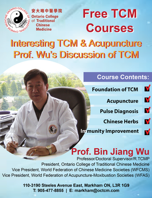 Online Course (Part 4): Interesting TCM & Acupuncture Prof.Wu's Discussion of TCM