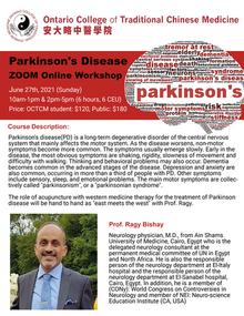 2021 CEU Workshop Series: Parkinson's Disease