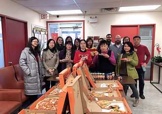 Pizza Party for 2019 Chinese New Year!