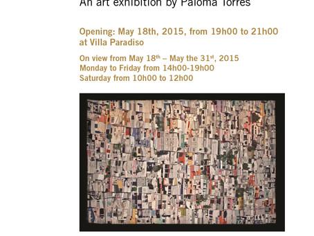 """Exposición """"Tramas Urbanas"""" de Paloma Torres en Beirut"""